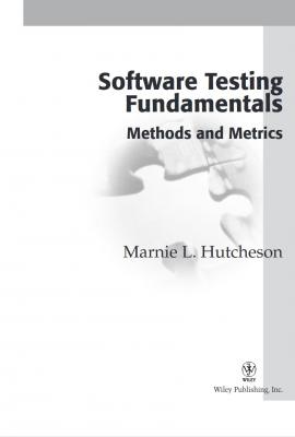 Software Testing Fundamentals: Methods and Metrics