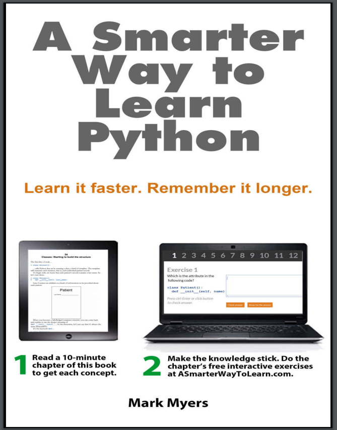 A Smarter Way to Learn Python. M. Myers