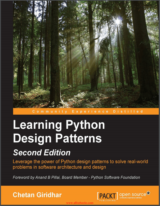 Learning Python Design Patterns. 2016. C. Giridhar