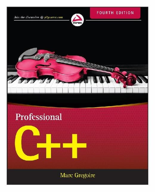 Professional C++. 4th Edition. M. Gregoire