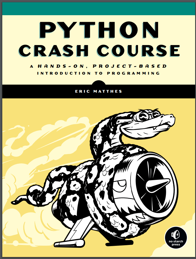 Python Crash Course. E. Matthes